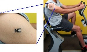Biosensor patch for lactate