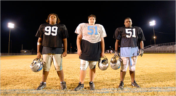 Overweight football players