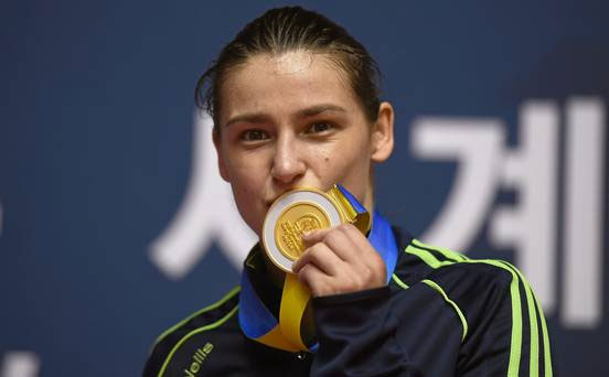 Congratulations to Katie Taylor on winning her 5th world title